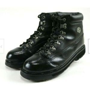 Harley Davidson Men Motorcycle Boots Sz 10 Leather